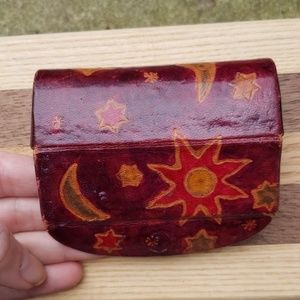 Accessories - Circa 1990s lipstick case with moon and stars